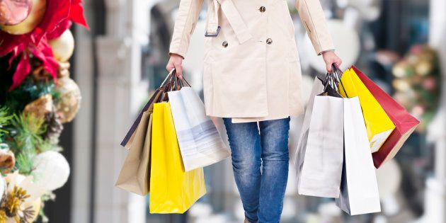 Around half of Canadians say they're actually trying to save money for the holidays, according to an...
