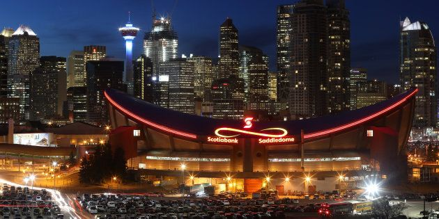 The Calgary skyline, Feb. 25, 2016. Alberta is expected to lead Canadian economic growth this year, with...