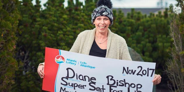 Diane Bishop, of Mount Pearl, Nfld., was able to retire and focus on fighting cancer after she won a $1.5-million lottery prize.