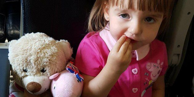 A Newfoundland mom and her family are asking Torontonians to help find their two-year-old's teddy bear who was last seen at Toronto's Christmas Market Tuesday night.