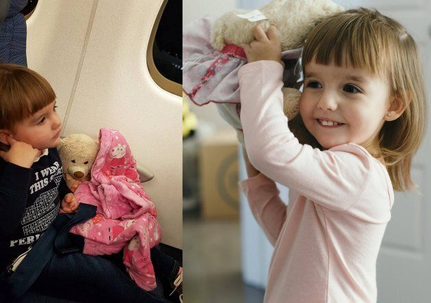 Carolyn Martin says that her daughter, Lennon, has become especially attached to her teddy bear recently.