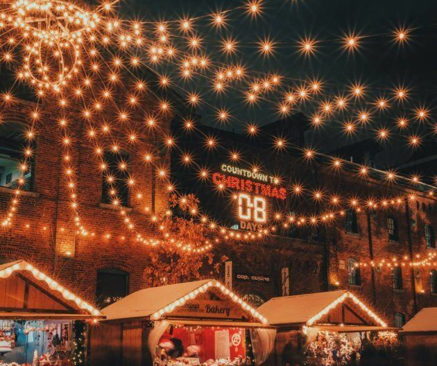 The Distillery District's Toronto Christmas Market.