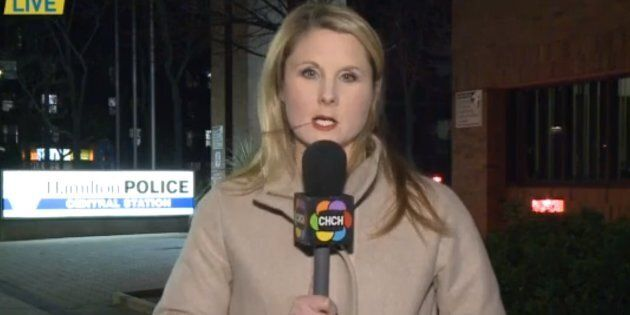Hamilton, Ont. reporter Britt Dixon was harassed with the same vulgar phrase by three different men last