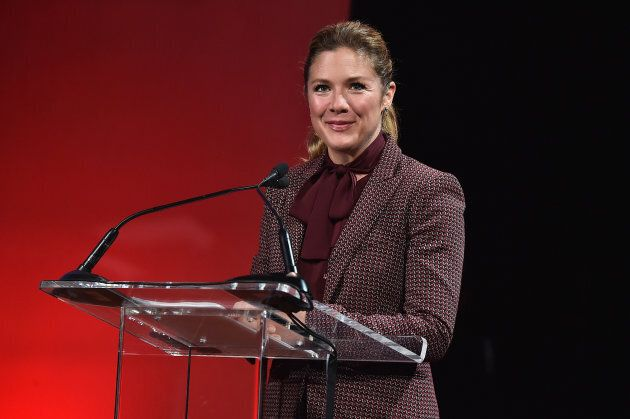 Sophie Grégoire Trudeau speaks onstage during Global Citizen: Movement Makers in New York in Sept. 2017.