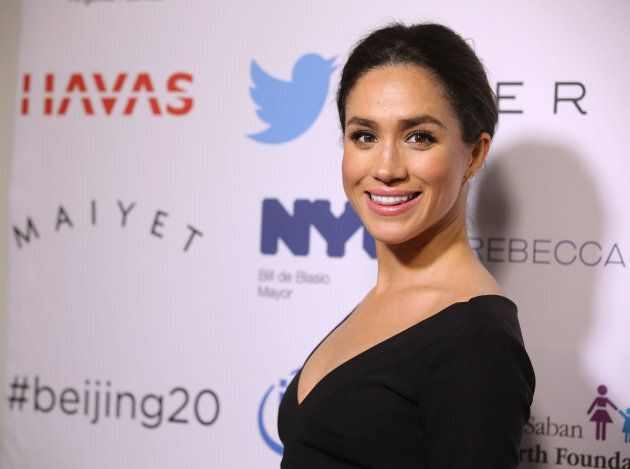 Meghan Markle attends the Step It Up For Gender Equality Celebration of the 20th Anniversary Of The Fourth World Conference On Women In Beijing on March 10, 2015 in New York City.