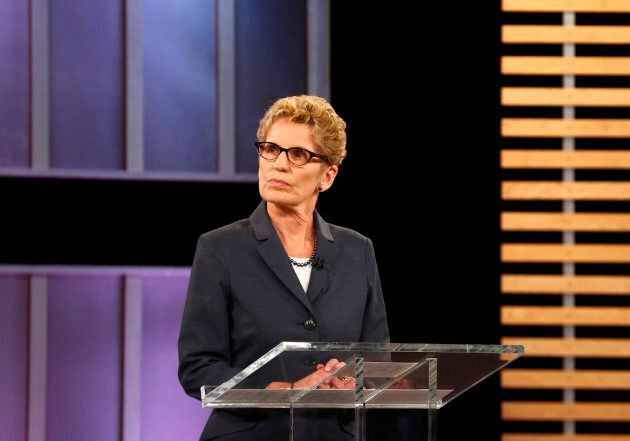 Ontario Premier and Ontario Liberal leader Kathleen