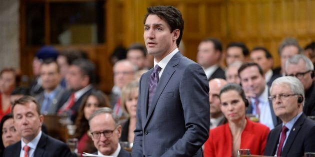Prime Minister Justin Trudeau makes a formal apology to individuals harmed by federal legislation, policies,...
