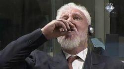 War Criminal Kills Himself Drinking Poison In The