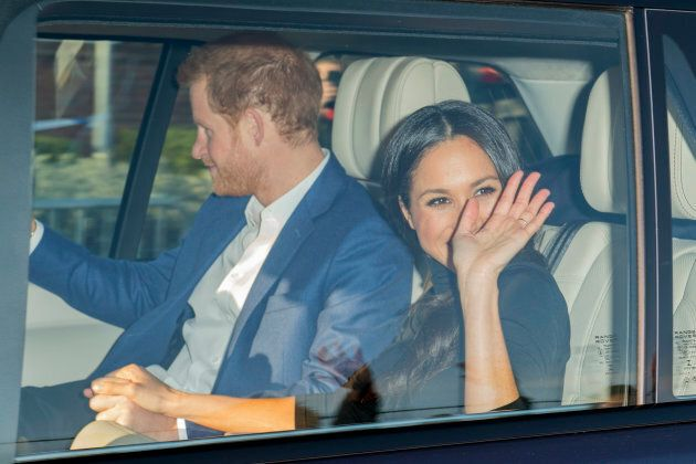 Prince Harry and Meghan Markle, Dec.