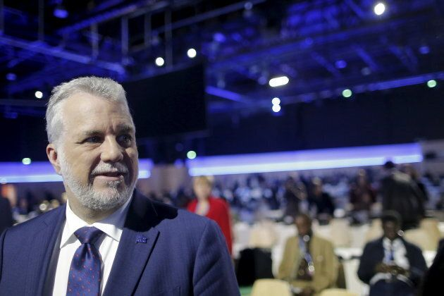 Quebec Premier Philippe Couillard admitted his preference for a French-only
