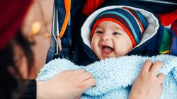 Here's How To Keep Your Child Warm And Safe In Their Car Seat This