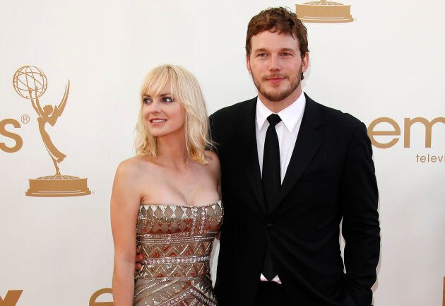 Anna Farris and Chris Pratt in 2011. The couple recently divorced.