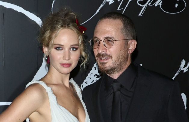 Actress Jennifer Lawrence and director Darren Aronofsky. Their relationship ended in