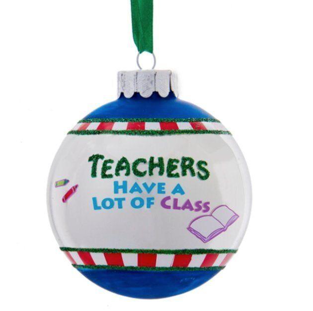 Teacher ornament from Walmart