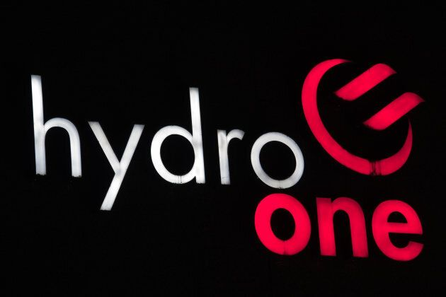 Hydro One sign at