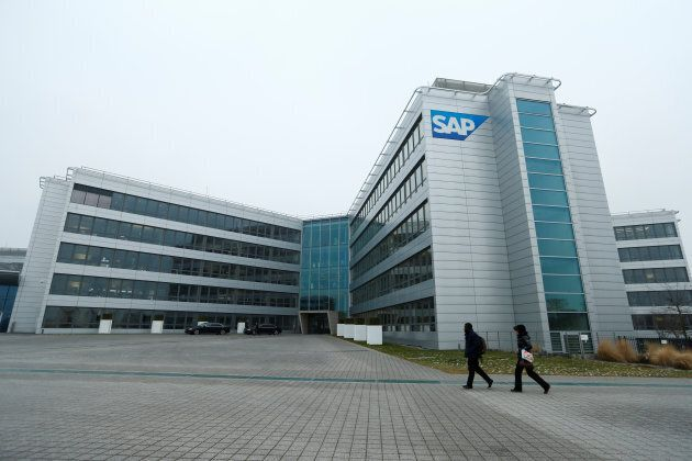 SAP headquarters in Walldorf, Germany, January 24,