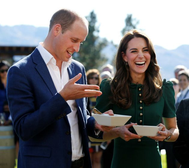 Prince William and the Duchess of Cambridge in Kelowna, B.C., Sept. 27,