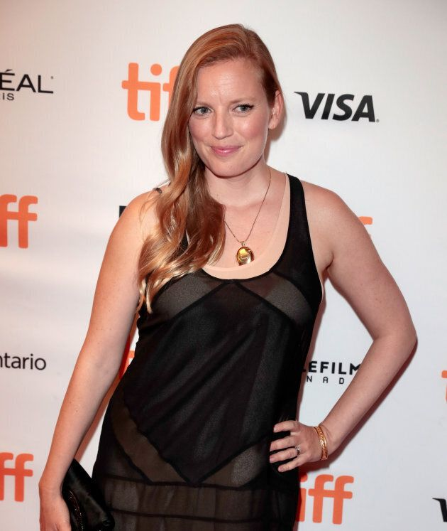Sarah Polley attends the 'Alias Grace' premiere during the 2017 Toronto International Film Festival.