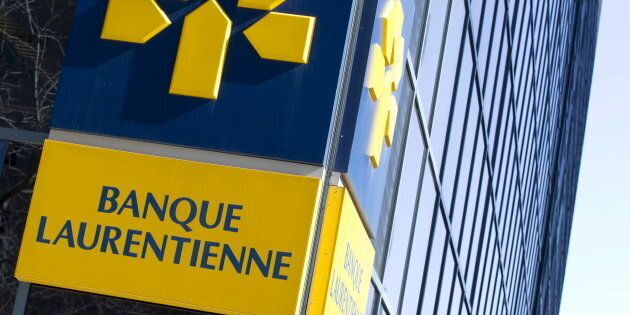 The logo of Laurentian Bank is seen at its head offices in Montreal, April 1, 2015. Laurentian Banksaid an audit had found