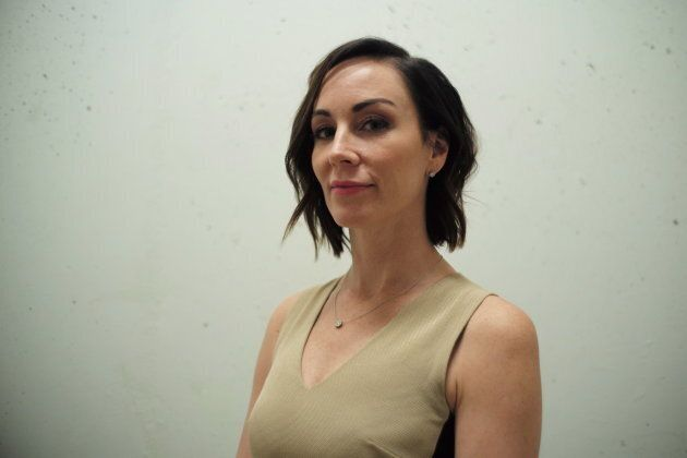 Amanda Lindhout poses for a portrait in Toronto on Oct. 16,
