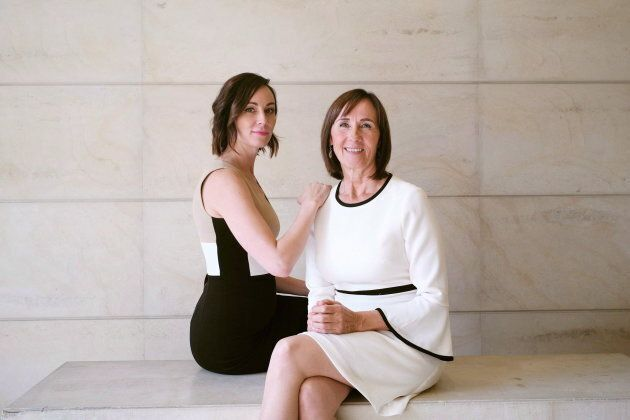 Lorinda Stewart and her daughter Amanda Lindhout are photographed in Toronto on Oct. 16,