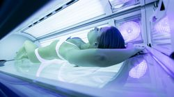 The Newest Reason To Avoid Tanning Beds Could Be Viral In