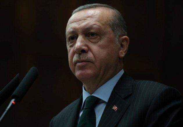 Turkey's President Tayyip