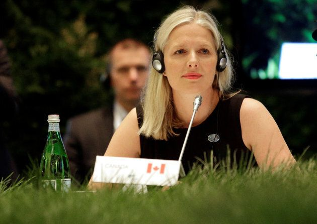 Environment Minister Catherine McKenna will meet with leaders and officials from the alliance this week...