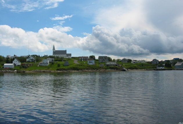 The fishing village of Canso,