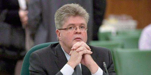Public sector integrity commissioner Mario Dion is shown in Ottawa on December 13,