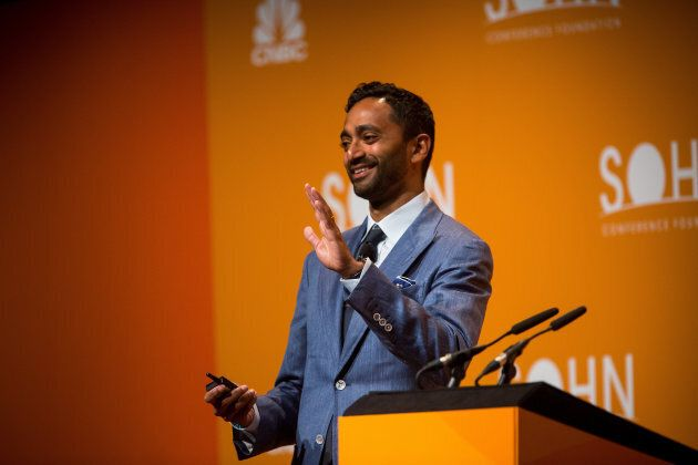 Chamath Palihapitiya gestures while speaking during the 21st annual Sohn Investment Conference in New York, Wed. May 4, 2015.