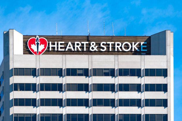 Heart & Stroke foundation building in Toronto.