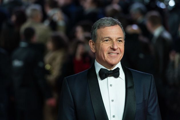 Walt Disney CEO Robert Iger arrives for the European film premiere of 'Star Wars: The Last Jedi' at the...