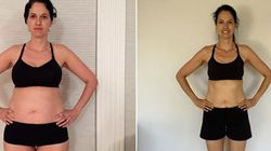 Home Workouts Helped This Woman Lose 27 Pounds In 3.5
