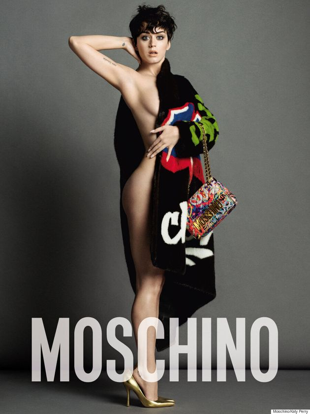 Katy Perry Teases Fans With More Moschino Campaign