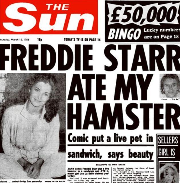 Freddie Starr Dead: Comedian Dies Aged