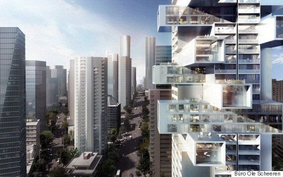 Vancouver 'Jenga' Tower Could Transform City