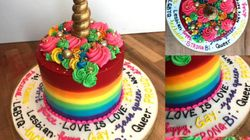 Ontario Customer Asked For The 'Gayest' Cake, And Boy, Did He Get
