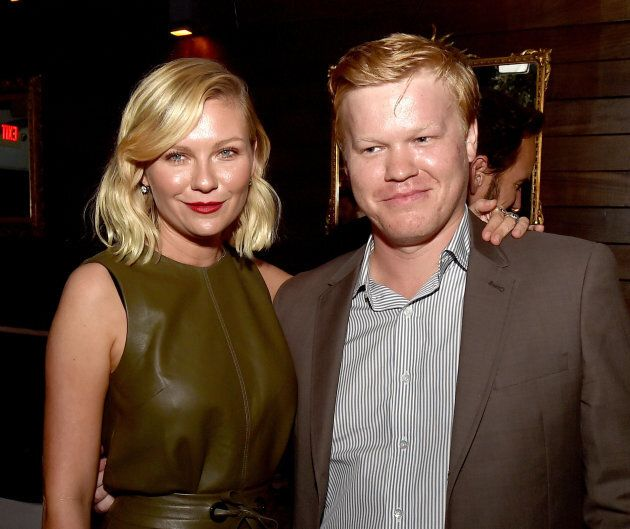 Kirsten Dunst and Jesse Plemons pose at the after party for the premiere of FX's 'Fargo' Season 2 in...