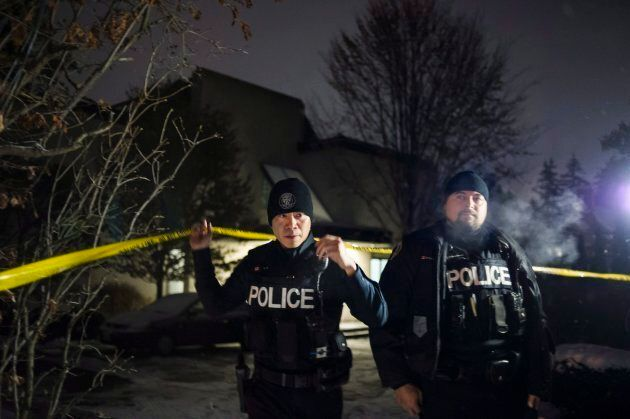 Police secured the home of Apotex founder Barry Sherman and wife, Honey Sherman after they were found...