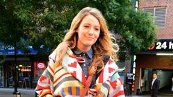Blake Lively Stylishly Covers Up Her Baby