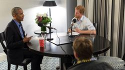 Watch A Sneak Peek Of Prince Harry's Interview With Barack