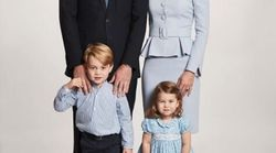 Duke And Duchess Of Cambridge Release New Family Portrait For