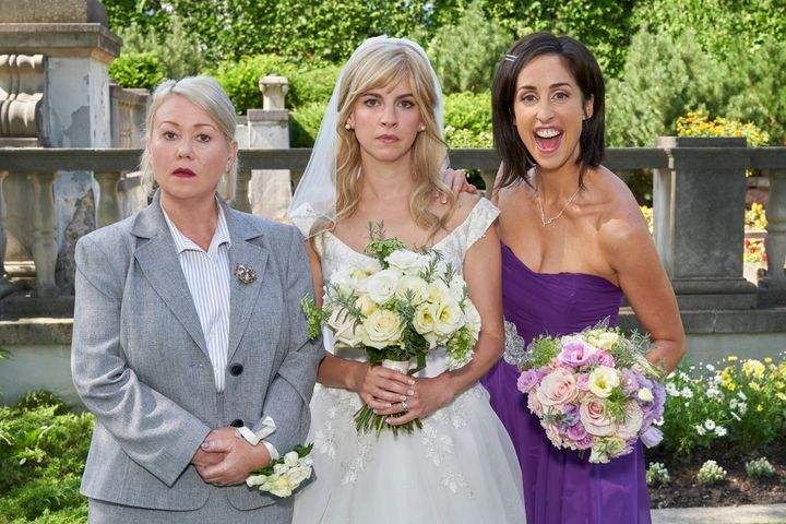 Jann Arden guest stars in the prequel to Season 2 of Workin' Moms, which airs Dec. 19.