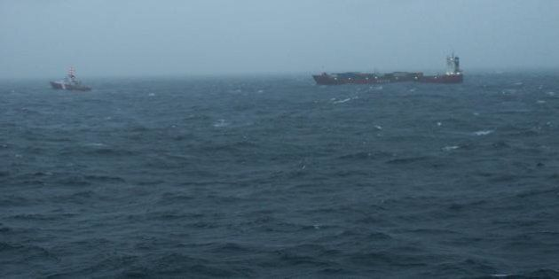 Russian Cargo Ship Carrying Fuel Adrift Again Off B.C. Coast: Coast