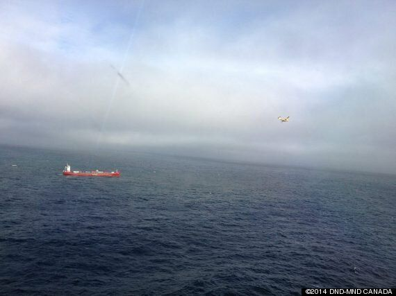 Coast Guard Tows Powerless Russian Ship Off Haida