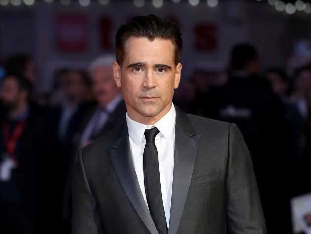 Colin Farrell attends the Headline Gala Screening & UK Premiere of 'Killing of a Sacred Deer' on Oct. 12, 2017.