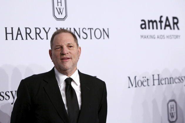 Film producer Harvey Weinstein attends the 2016 amfAR New York Gala Feb. 10,