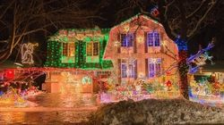 Founder Of 'Griswold House' Light Display Dies After He Fell Off