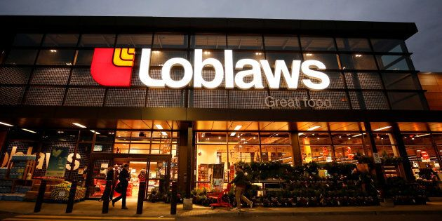 A Loblaw supermarket is pictured in Ottawa, Nov. 14,